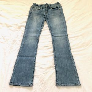 American Eagle Kick Boot Cut Jeans Size 0R